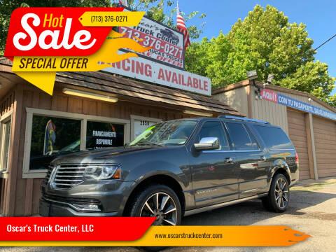 2017 Lincoln Navigator L for sale at Oscar's Truck Center, LLC in Houston TX