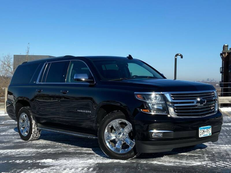2016 Chevrolet Suburban for sale at North Imports LLC in Burnsville MN
