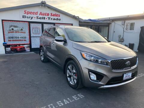2016 Kia Sorento for sale at Speed Auto Sales in El Cajon CA