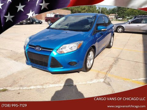 2014 Ford Focus for sale at Cargo Vans of Chicago LLC in Mokena IL