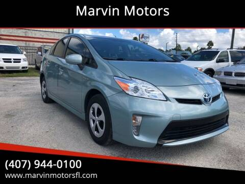 2015 Toyota Prius for sale at Marvin Motors in Kissimmee FL