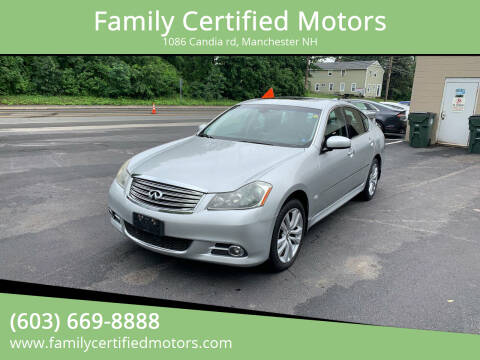 2009 Infiniti M35 for sale at Family Certified Motors in Manchester NH