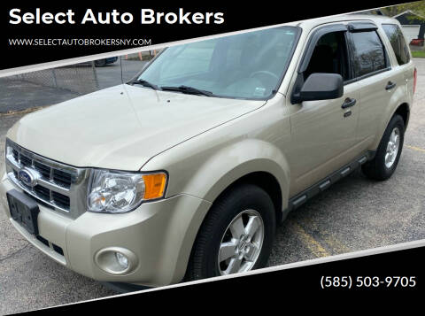 2011 Ford Escape for sale at Select Auto Brokers in Webster NY