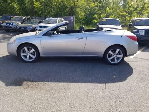 2007 Pontiac G6 for sale at CANDOR INC in Toms River NJ
