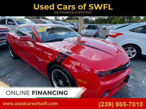 2012 Chevrolet Camaro for sale at Used Cars of SWFL in Fort Myers FL