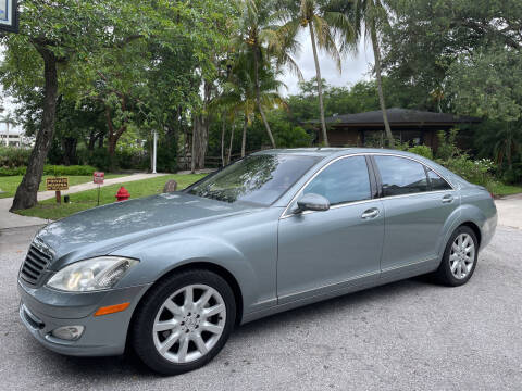 2007 Mercedes-Benz S-Class for sale at VehicleVille in Fort Lauderdale FL