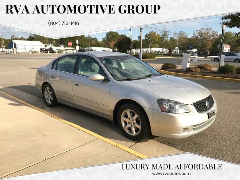 2006 Nissan Altima for sale at RVA Automotive Group in North Chesterfield VA
