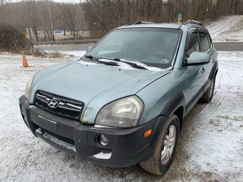 2007 Hyundai Tucson for sale at Trocci's Auto Sales in West Pittsburg PA