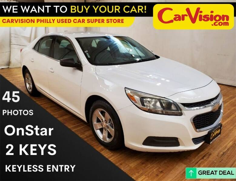 2015 Chevrolet Malibu for sale at Car Vision Mitsubishi Norristown - Car Vision Philly Used Car SuperStore in Philadelphia PA