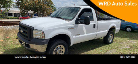 2005 Ford F-250 Super Duty for sale at WRD Auto Sales in Hollywood FL