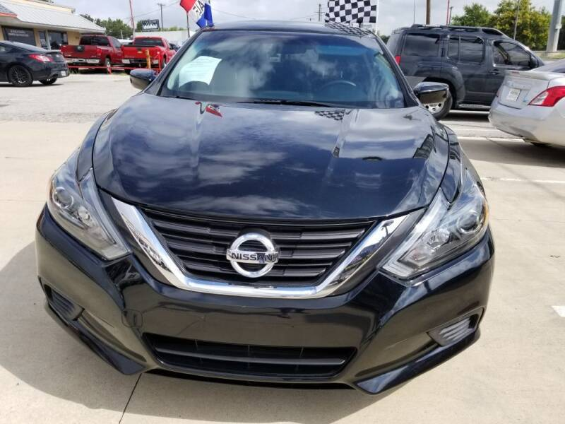 2016 Nissan Altima for sale at TEXAS AUTO WEB LLC in Garland TX