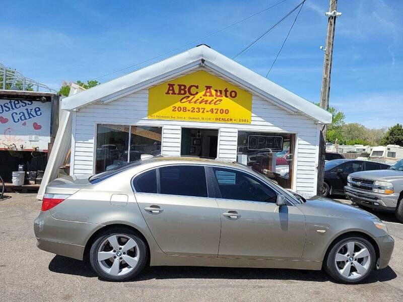 2006 BMW 5 Series for sale at ABC AUTO CLINIC - Chubbuck in Chubbuck ID