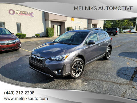 2021 Subaru Crosstrek for sale at Melniks Automotive in Berea OH