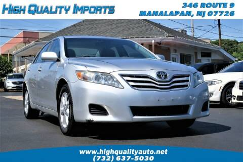 2011 Toyota Camry for sale at High Quality Imports in Manalapan NJ