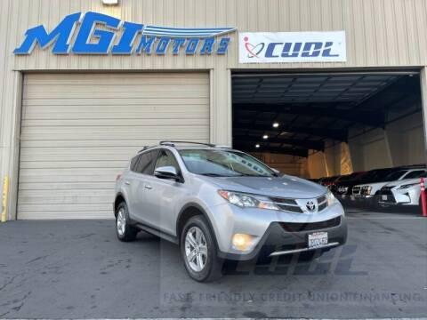2013 Toyota RAV4 for sale at MGI Motors in Sacramento CA