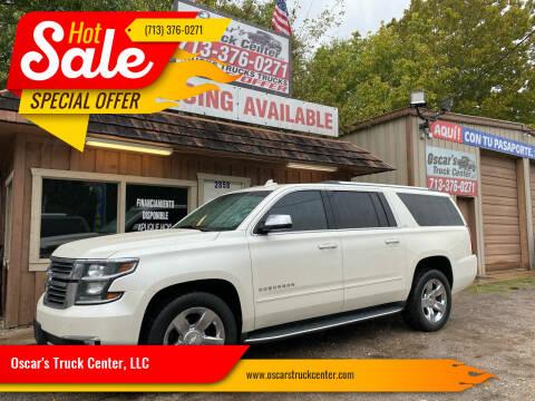 2015 Chevrolet Suburban for sale at Oscar's Truck Center, LLC in Houston TX