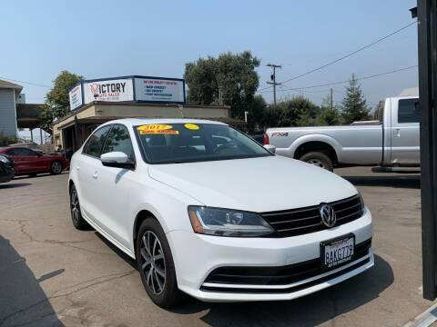 2017 Volkswagen Jetta for sale at Victory Auto Sales in Stockton CA