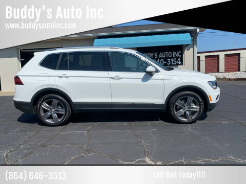 2020 Volkswagen Tiguan for sale at Buddy's Auto Inc in Pendleton, SC