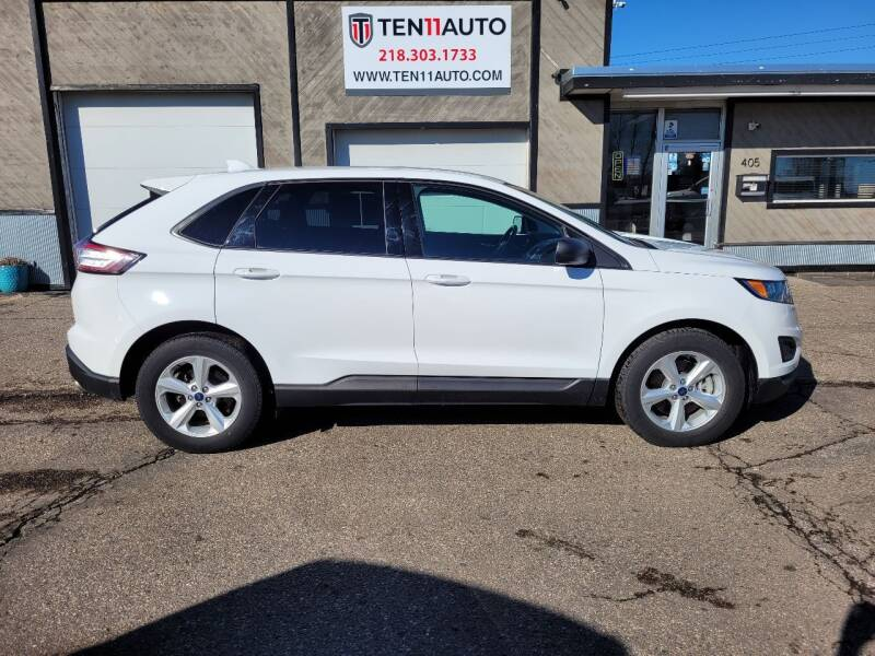 2016 Ford Edge for sale at Ten 11 Auto LLC in Dilworth MN