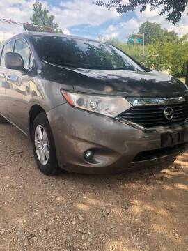 2014 Nissan Quest for sale at S & J Auto Group in San Antonio TX