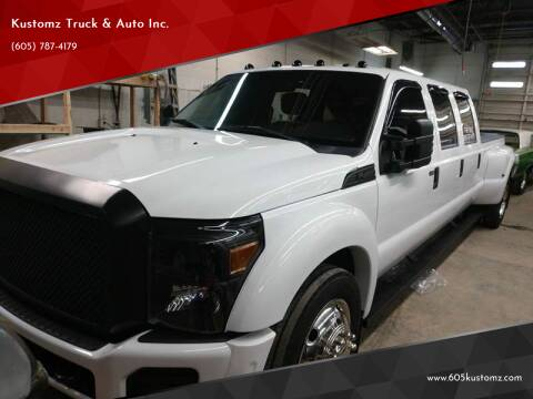 2015 Ford F-450 Super Duty for sale at Kustomz Truck & Auto Inc. in Rapid City SD
