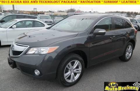 2015 Acura RDX for sale at L & S AUTO BROKERS in Fredericksburg VA