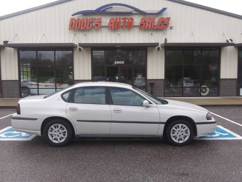 2004 Chevrolet Impala for sale at DOUG'S AUTO SALES INC in Pleasant View TN