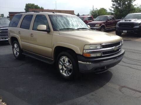 2005 Chevrolet Tahoe for sale at Bruns & Sons Auto in Plover WI