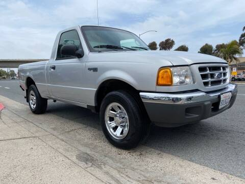 2003 Ford Ranger for sale at Beyer Enterprise in San Ysidro CA