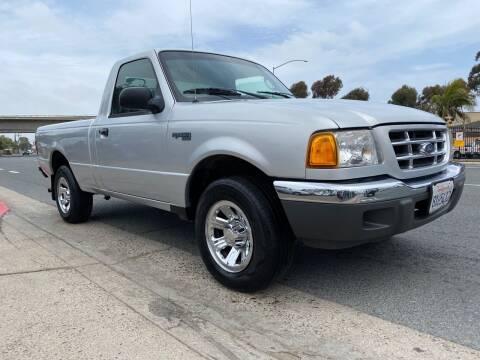 2003 Ford Ranger for sale at Beyer Enterprise in San Ysidro CA