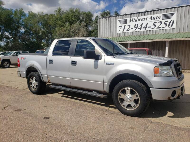 2008 Ford F-150 for sale at Midwest Auto of Siouxland, INC in Lawton IA