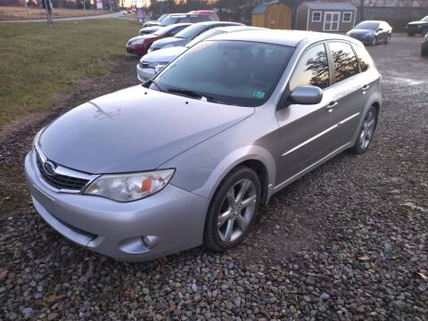 2008 Subaru Impreza for sale at Seneca Motors, Inc. (Seneca PA) - MEADVILLE, PA LOCATION in Conneaut Lake PA