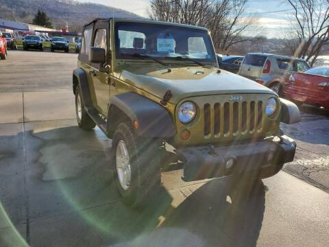 2007 Jeep Wrangler for sale at A - K Motors Inc. in Vandergrift PA