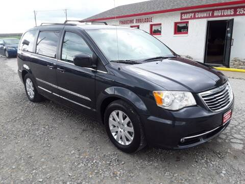 2013 Chrysler Town and Country for sale at Sarpy County Motors in Springfield NE