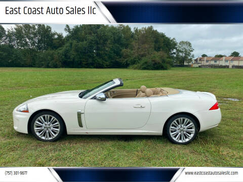 2010 Jaguar XK for sale at East Coast Auto Sales llc in Virginia Beach VA