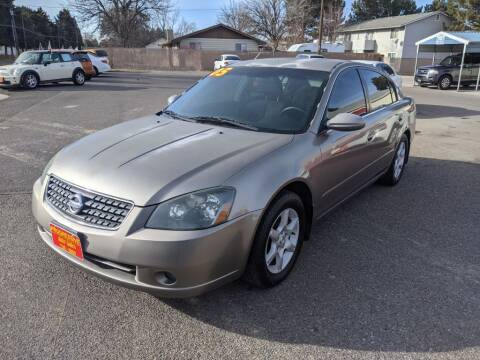 2005 Nissan Altima for sale at Progressive Auto Sales in Twin Falls ID