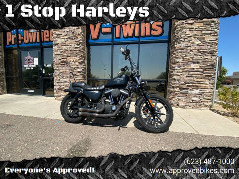 2018 Harley Davidson XL883N Iron for sale at 1 Stop Harleys in Peoria AZ