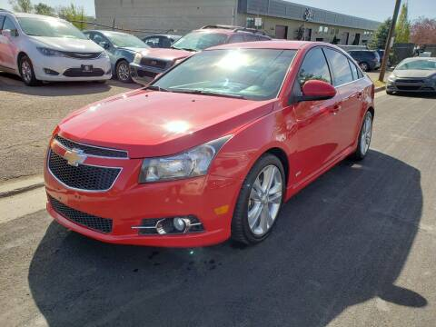 2012 Chevrolet Cruze for sale at High Line Auto Sales in Salt Lake City UT