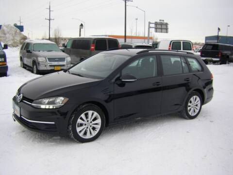 2018 Volkswagen Golf SportWagen for sale at NORTHWEST AUTO SALES LLC in Anchorage AK