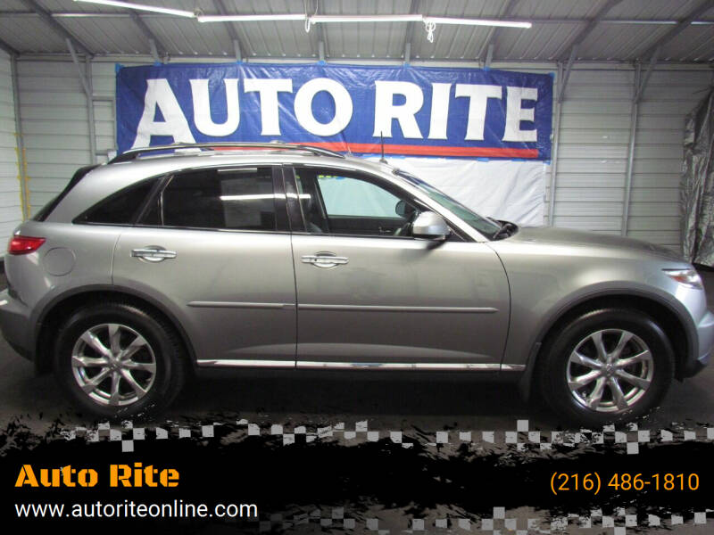 2008 Infiniti FX35 for sale at Auto Rite in Cleveland OH