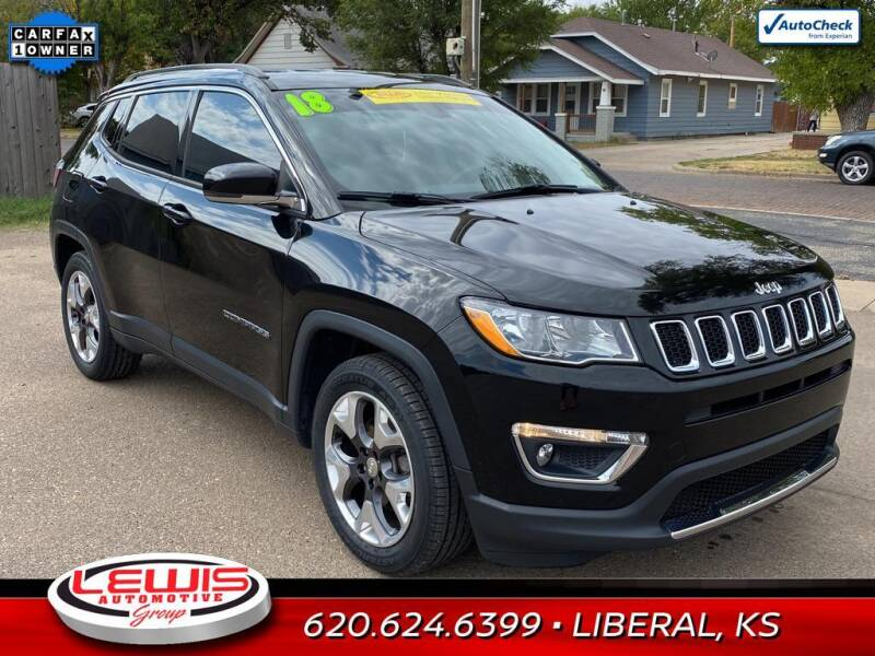 2018 Jeep Compass for sale at Lewis Chevrolet Buick of Liberal in Liberal KS