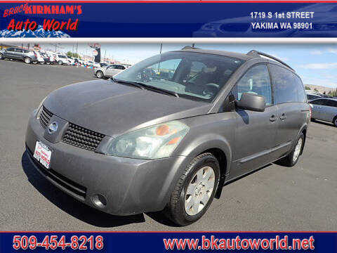2004 Nissan Quest for sale at Bruce Kirkham Auto World in Yakima WA
