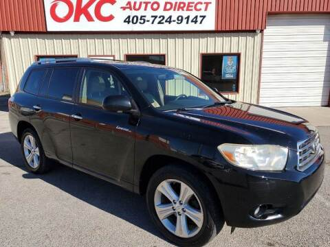 2008 Toyota Highlander for sale at OKC Auto Direct in Oklahoma City OK