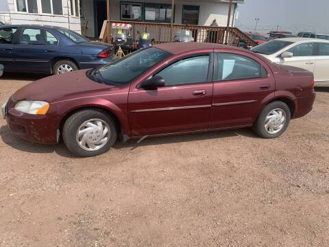 2001 Dodge Stratus for sale at PYRAMID MOTORS - Fountain Lot in Fountain CO