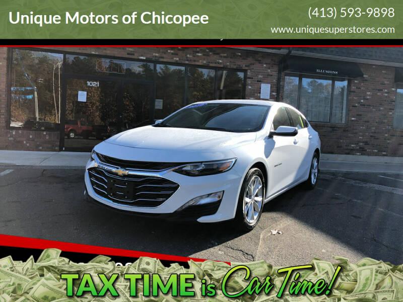 2019 Chevrolet Malibu for sale at Unique Motors of Chicopee in Chicopee MA
