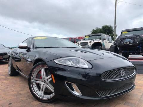 2013 Jaguar XK for sale at Cars of Tampa in Tampa FL