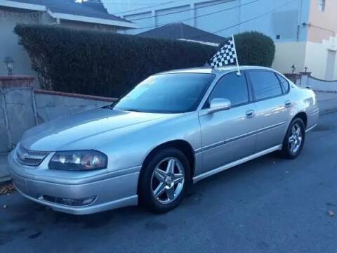 2001 Chevrolet Impala for sale at Top Notch Auto Sales in San Jose CA