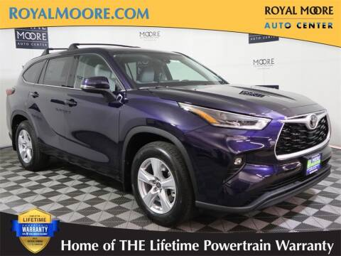 2021 Toyota Highlander for sale at Royal Moore Custom Finance in Hillsboro OR