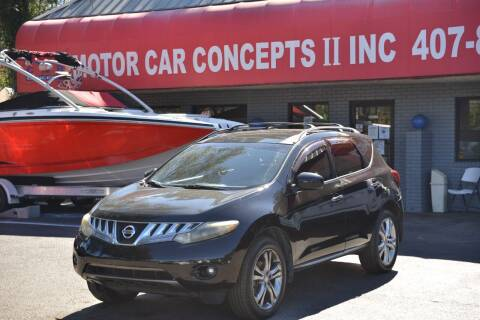 2009 Nissan Murano for sale at Motor Car Concepts II - Apopka Location in Apopka FL
