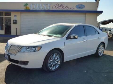 2011 Lincoln MKZ for sale at Coast Motors in Arroyo Grande CA